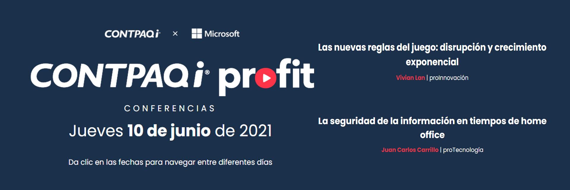 Contpaqi Profit 2021 Jueves 10